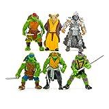 Teenage Mutant Hero Ninja Turtles PVC Action Figures Toys Set 6 Pcs