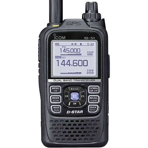 Icom Original ID-51A PLUS 144/440 Digital/Analog Handheld Tr