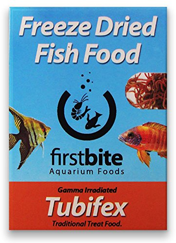 Tubifex essicato 5 g First Bite comida peces acuario agua dulce BCUK ...