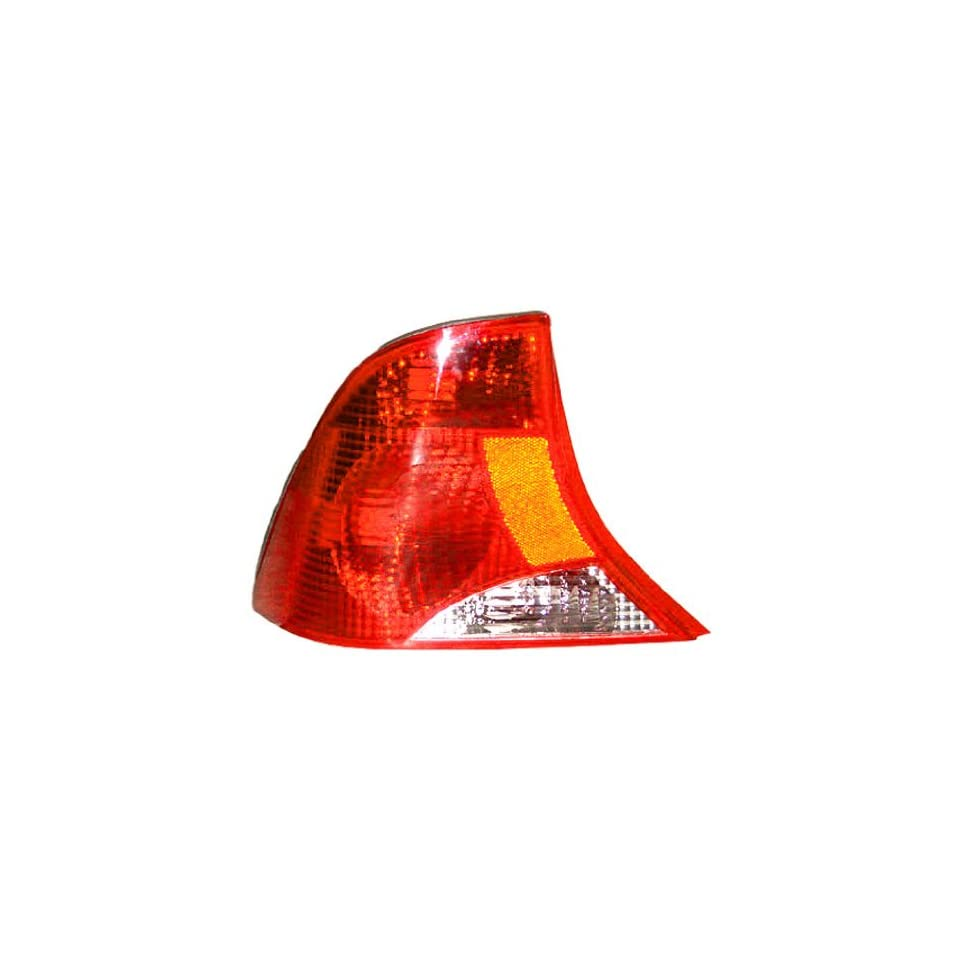 OE Replacement Ford Focus Driver Side Taillight Assembly (Partslink Number FO2800187)