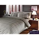 Brielle Bamboo Graph Duvet Cover Set, Comes in a Giftable Box, King