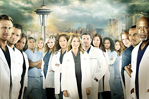 Greys Anatomy TV Show Fabric Cloth Rolled Wall Poster Print