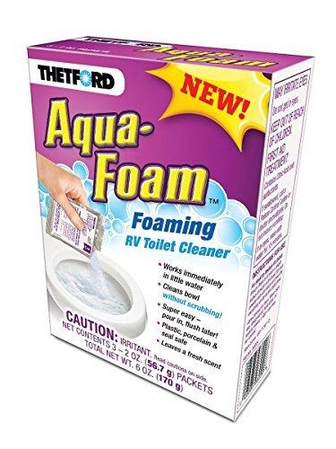THETFORD 96009 RV Trailer Camper Cleaners Aqua-Foam 3 Pack