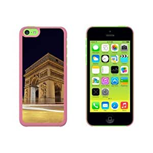 Arc De Triomphe Paris France Snap On Hard Protective For SamSung Note 3 Phone Case Cover - Pink
