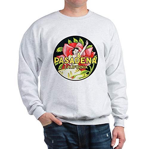 CafePress Pasadena California (Front) Classic Crew Neck Sweatshirt Ash Grey