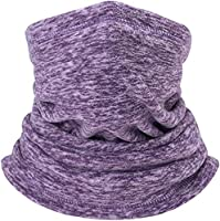 Neck Gaiter Warmer, Fleece Protective Face Mask Outdoor Multifunctional Headwear For Men And Women