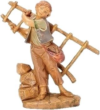 Roman Carlo With Ladder Fontanini Figurine 57110