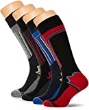 FM London 4-Pack Mens Thermal Ski Socks |...
