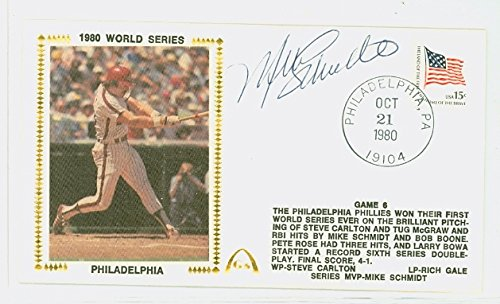 PH Signed 1980 World Series Gateway Stamp Company FDC Envelope (Fdc Envelope)