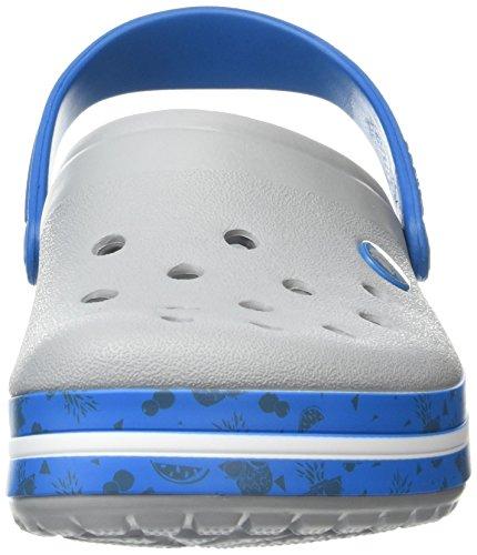 Crocs Crocband Fruit - Zuecos Unisex adulto Grigio (Light Grey)