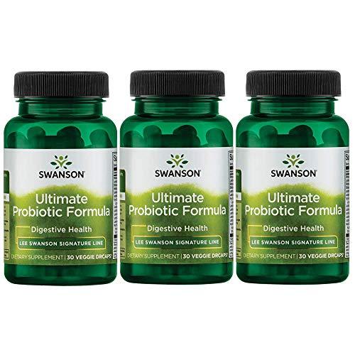 (Lee Swanson Signature Line Ultimate Probiotic Formula 3-Pack 66 Billion Cfu 3-30 ct bottles Veg Drcaps)
