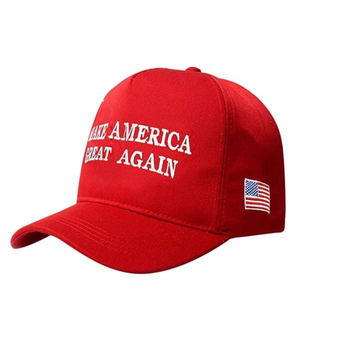 RFVTGB Gorra De Béisbol Sombrero Moda Mujer Vintage Make America ...