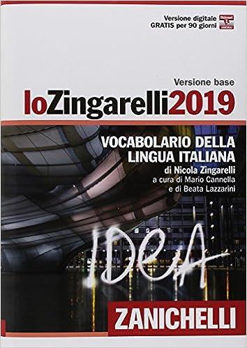 Lo Zingarelli 2019