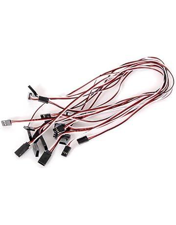 10pcs 520mm Servo Extension Leads Hilos Cables Wires