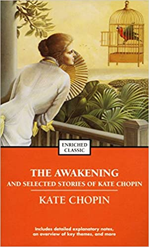 an analysis of eveline in kate chopins the awakening Kate chopin was an american novelist and short-story writer best known for her startling 1899 novel, the awakening born in st louis, she moved to new orleans after marrying oscar chopin in 1870 less than a decade later oscar's cotton business fell on hard times and they moved to his family's plantation in the natchitoches parish of.