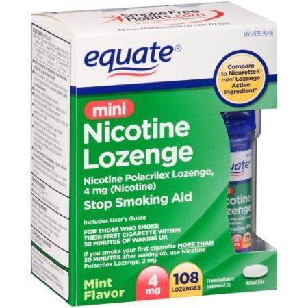 Equate nicotine lozenges coupons