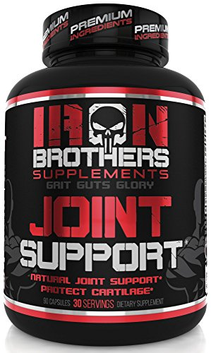 Joint Support - Pain Relief Supplements - Anti Inflammatory Formula with Glucosamine Chondroitin, Turmeric, MSM, Boswellia for Men & Women - Non GMO - 90 Veggie Capsules - 30 (Boswellia Anti Inflammatory)