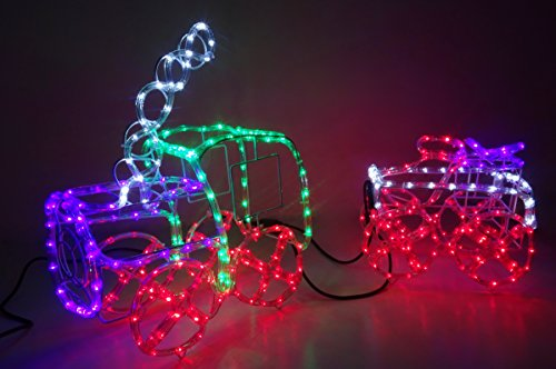 Multi Coloured Outdoor Rope Lights in US - 2