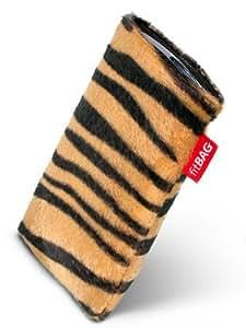 Bonga Tiger fitBAG-Funda con pestaña para Nokia, 6610 6610i., imitación de piel, con forro de microfibra para limpieza de pantalla