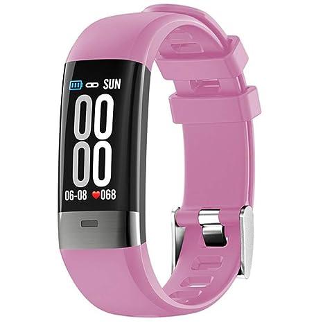 Linbing123 Smartwatch ECG + PPG a Prueba de Agua con ...