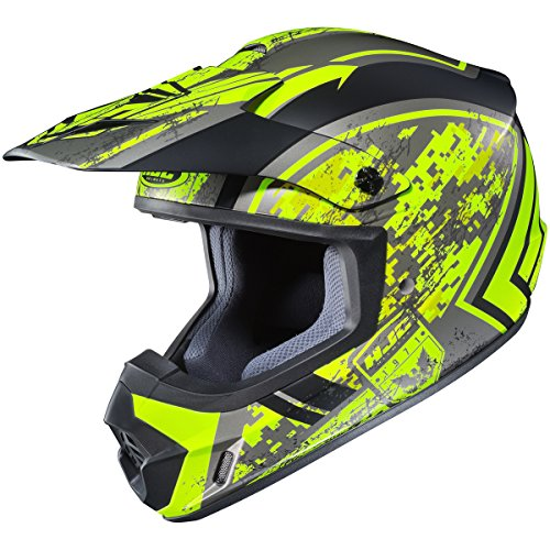 HJC Squad Adult CS-MX 2 MX Motorcycle Helmet - MC-3HF / Medium