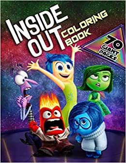 Inside Out Coloring Book Super Coloring Book For Kids And Fans 70 Giant Great Pages With Premium Quality Images Amazon Es Aaron Paul Libros En Idiomas Extranjeros