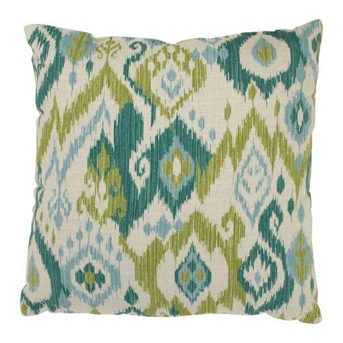 Gunnison Throw Pillow in Grasshopper Color - Green