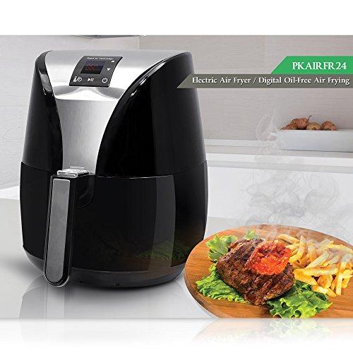 NutriChef Electric Air Fryer Digital Display