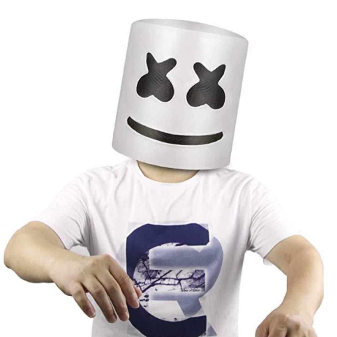 DJ Mask, Music Festival Helmets, Full Head Masks Halloween Party Props Costume Masks by Rednow