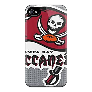 JonBradica Iphone 4/4s Scratch Protection Phone Cases Customized High Resolution Tampa Bay Buccaneers Image [GtM6365KVIY]