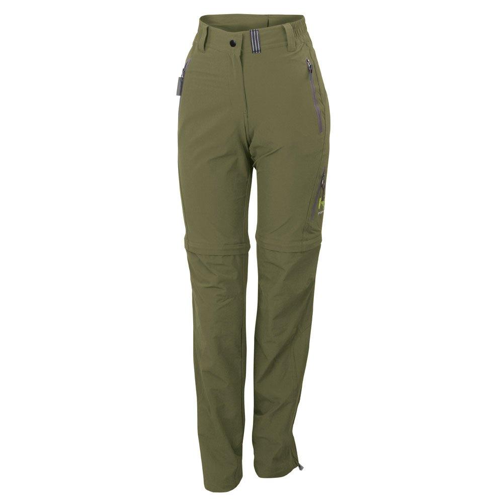 Karpos Remote Evo Zip Off Pant Women - Olive Green