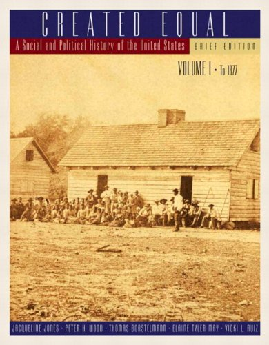 Created Equal: A Social and Political History of the United States, Brief Edition, Volume I (to 1877) (with Study Card)