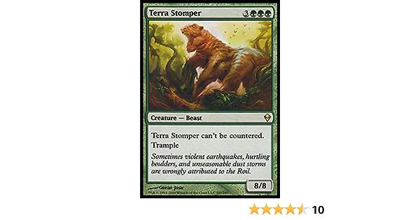 4x Terra Stomper NM-Mint English Zendikar MTG Magic