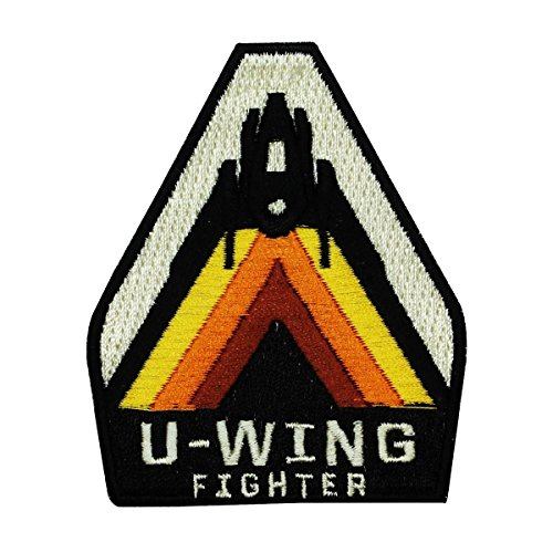 Disney Star Wars U-Wing Fighter Patch Pilot Officially Licensed Iron On Applique