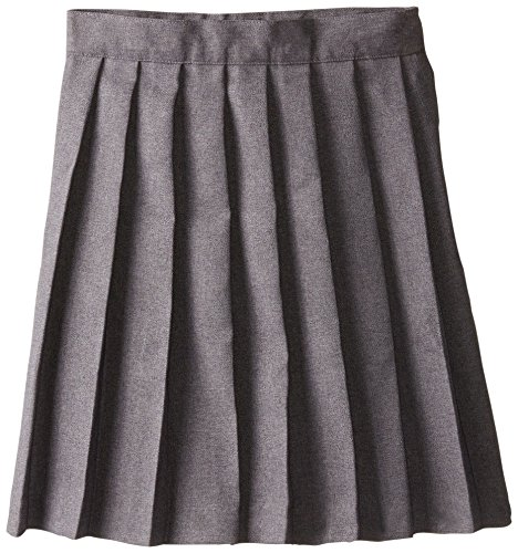 French Toast Little Girls' Pleated Skirt, Grey, 4