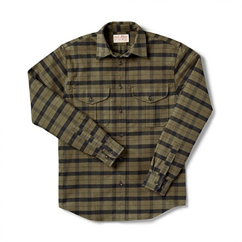 Filson Alaskan Guide Shirt - Alaskan Fit - OtterGreen/Black -