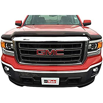 Auto Ventshade 25947 Bugflector II Dark Smoke Hood Shield for 2015-2018 GMC Sierra 2500HD /& 3500HD