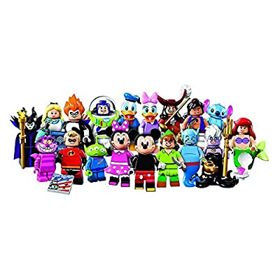 LEGO, Disney Minifigures, Bundle of 4(71012) Styles May Vary: Toys & Games