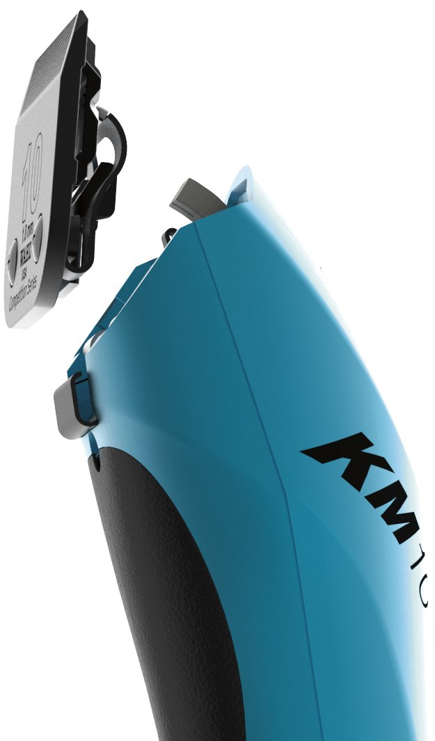 Wahl Professional Animal KM10 2-Speed Brushless Motor Pet Clipper Kit, Turquoise (#9791) by Wahl Professional Animal (Image #3)