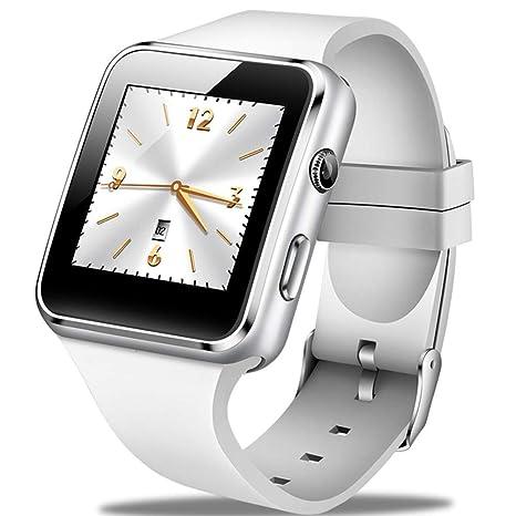 GBVFCDRT Smartwatch Hombres Moda Casual Correa de Silicona Reloj ...