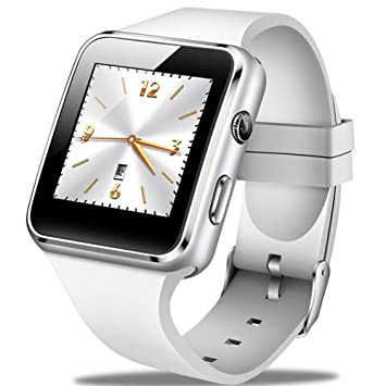 GBVFCDRT Smartwatch Hombres Moda Casual Correa de Silicona Reloj Inteligente Mujeres Hombres Deportes Podómetro Led Cronómetro Soporte Sim Call Wearable ...
