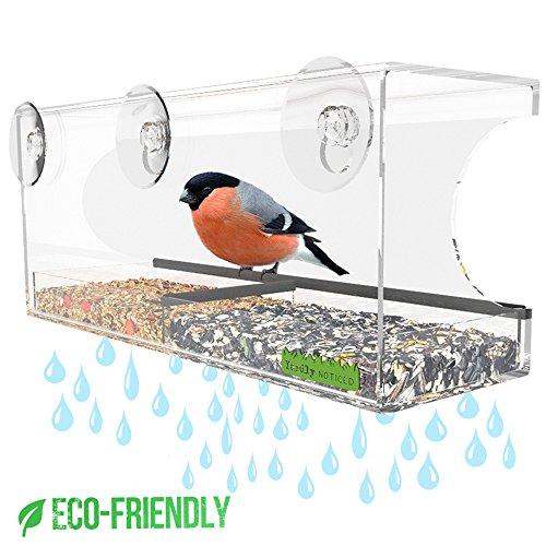 Window Bird Feeder - Best Window Mounted Bird Feeders for Ki
