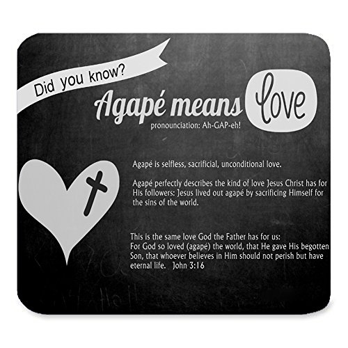 Zigzag Unique Custom Rectangle Mouse Pad Extended,Bible Verse Scripture Quotes on Blackboard Patterns,Gaming Non-slip Rubber Large Mousepad Mat(9.84″x7.87″)