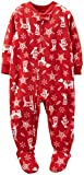 Carter's Little Unisex Child Holiday Footie (Toddler/Kid) - Nordic