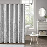 grey ombre shower curtain - Intelligent Design Zoey Printed Shower Curtain Grey/Silver 72x72