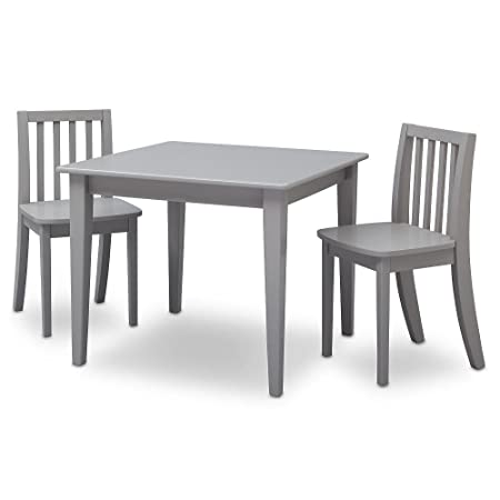 Amazon.com Brand New Grey Next Steps Table and 2 Chairs Set GUARANTEED QUALITY Kitchen u0026 Dining  sc 1 st  Amazon.com & Amazon.com: Brand New Grey Next Steps Table and 2 Chairs Set ...