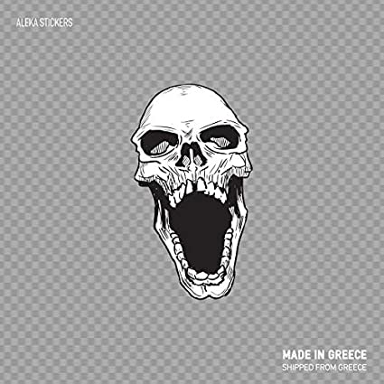 Amazon com: Boyce22Par Skull Scream Angry Bite Fear Death