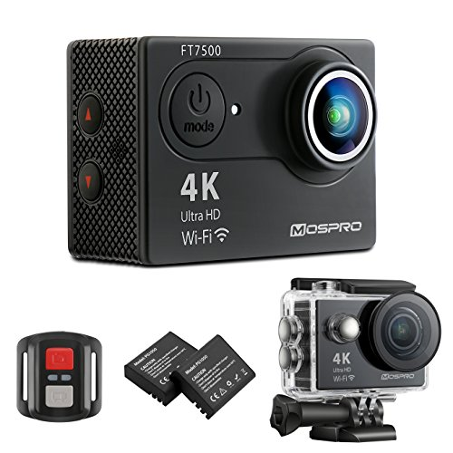 MOSPRO FT7500 Action Camera, 4K Ultra HD...