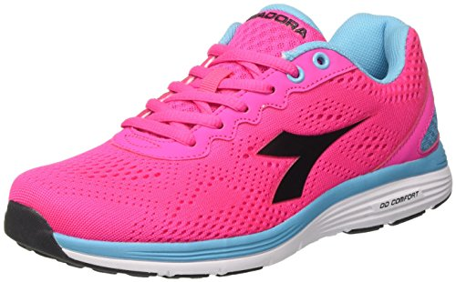Nero Women's Rosa Competition Pink W Swan Shoes Diadora Fluo 2 Running OvxTOU