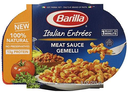 Barilla итальянский Закуски, Мясо Соус Gemelli, 9 унций (в упаковке 6)